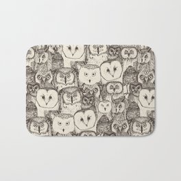 just owls natural Bath Mat