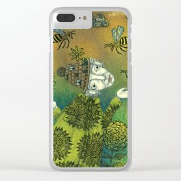 The Beekeeper Clear iPhone Case