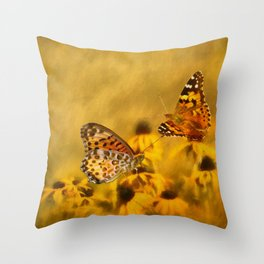 Echoes of Nature Throw Pillow