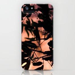 silver lake sunset iPhone Case