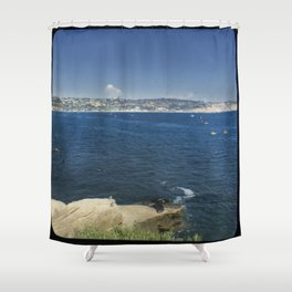 Kayakers in the Cove Shower Curtain