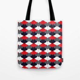 Manta Ray Pattern (Blue and Red) Tote Bag