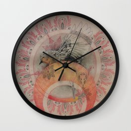 The Sun's Robin Gives Birth to a Planet Wall Clock
