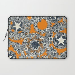 cirque fleur papaya Laptop Sleeve