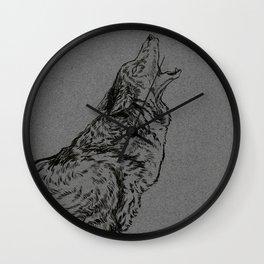 Coyote (DirtyDecibels) Wall Clock