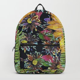Flower Collage 2 Backpack