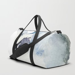 Watercolor Magpie Painting Duffle Bag