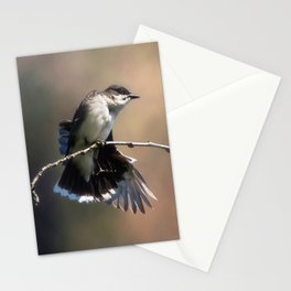 Eastern King Bird Stationery Cards
