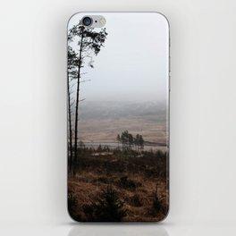 Deforestation, Scottish Highlands iPhone Skin