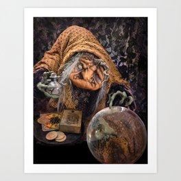 Rucus Studio Gypsy Hag Art Print