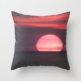 Aboiteau Beach Throw Pillow