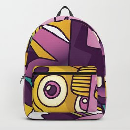 Abstract Monster Backpack