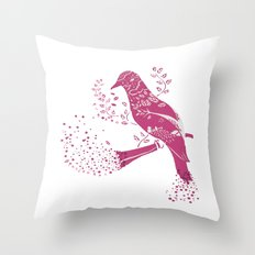 The Bird Throw Pillow