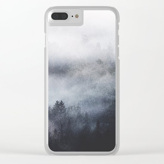 Like a fire Clear iPhone Case