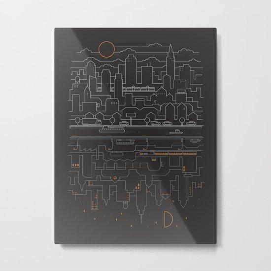 City 24 Metal Print