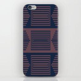 Bicolor Geometric I iPhone Skin