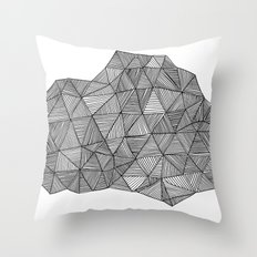 Live Lines Throw Pillow