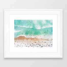 Beach Mood Framed Art Print