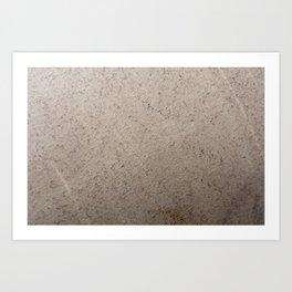 Clay Sandstone Art Print