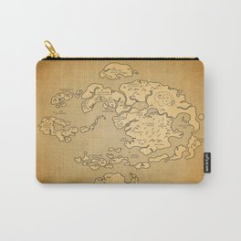 Avatar Last Airbender Map Carry-All Pouch