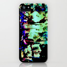 Light ripples iPhone Case