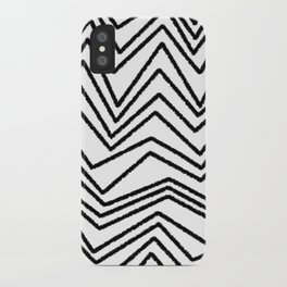Graphic_Chevron freehand iPhone Case