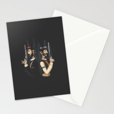 Pistols At Dawn Stationery Cards