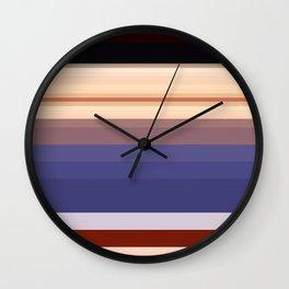 Pixelated Humanoid Wall Clock