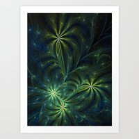 weed Art Prints featuring Weed by Eli Vokounova