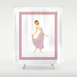 Helen 1935 Shower Curtain