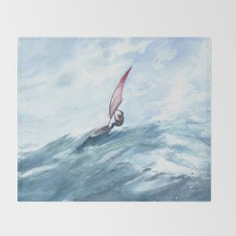 Ocean life Throw Blanket