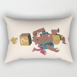 banjo block Rectangular Pillow