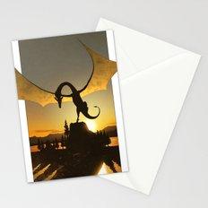 Dragon Sunset Stationery Cards