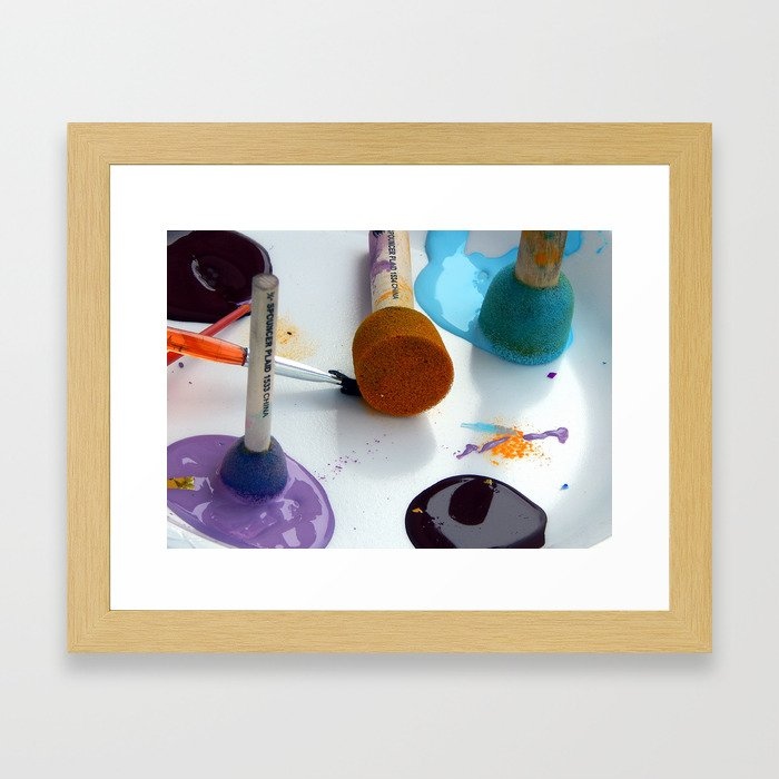 Painting Perfection Framed Art Print