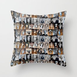 Browns Throw Pillow