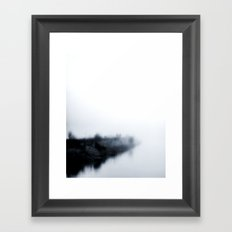 Into the unknown and they showed no fear Framed Art Print