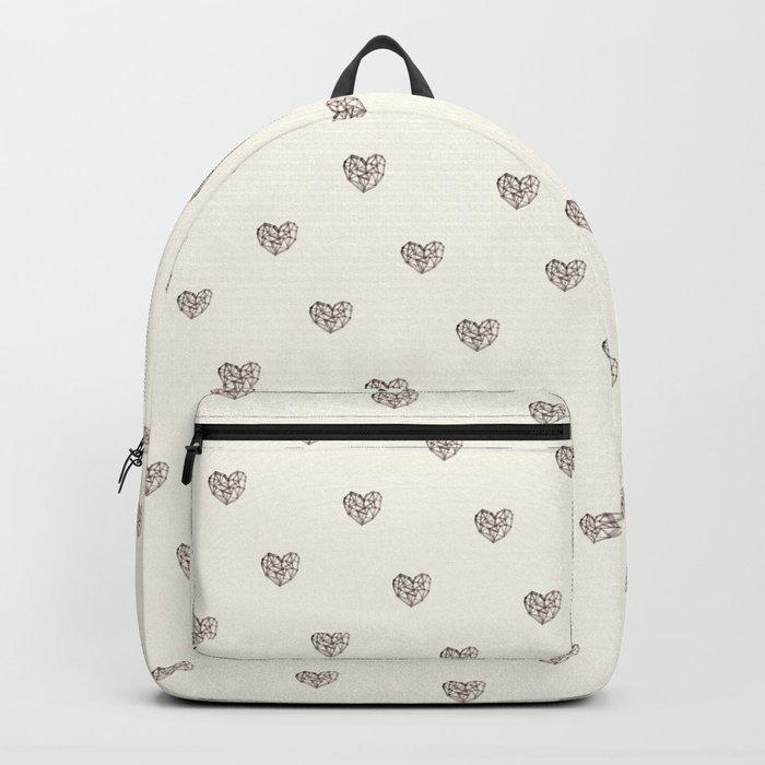 Wooden Heart Backpack