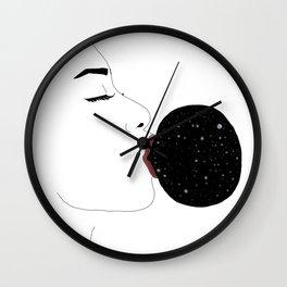 Space Gum II Wall Clock
