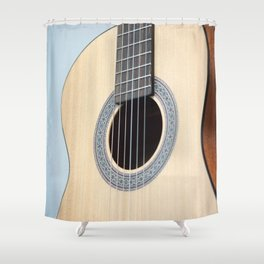 Classical Guitar Shower Curtain