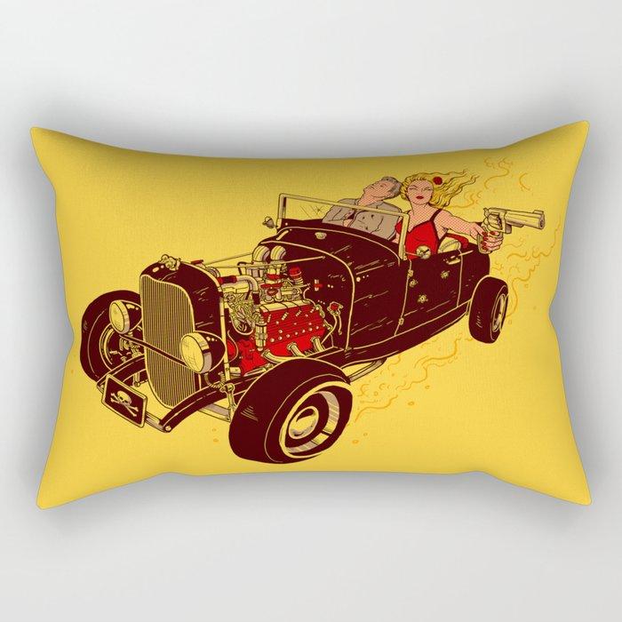 Bonnie & Clyde Rectangular Pillow