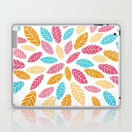 Fresh leaf pattern Laptop & iPad Skin