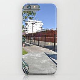 Freighter Locking Down iPhone Case