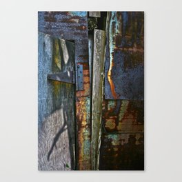 On Hinge Canvas Print