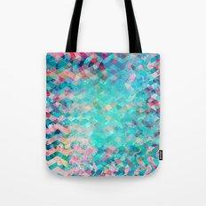 Chevron Remix Tote Bag