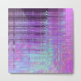Softest Possible Glitch 02 Metal Print