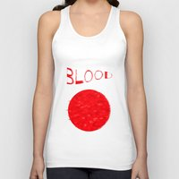 blood Tank Tops featuring Blood by Ante Penava