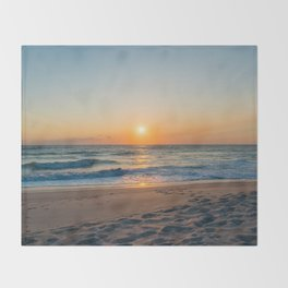 Canaveral Sunrise Throw Blanket