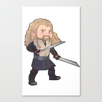 fili Canvas Prints featuring fili by Ronnie