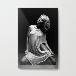 black milk Metal Print