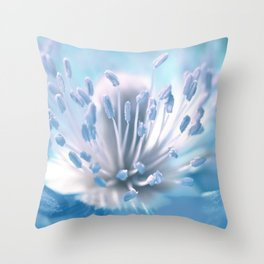 Blue 003 Throw Pillow